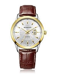 ROSSINI 罗西尼 雅尊商务系列 石英男士手表 AZ514631T01D(亚马逊自营商品, 由供应商配送)