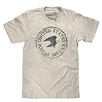 Tee Luv USPS 邮票衬衫 - 美国邮政服务邮件衬衫