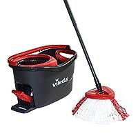 Vileda 微力达 涡轮Turbo easyw 戒指 & CleanEasyWring & Clean 拖把完整 - 套装 grey and red 1