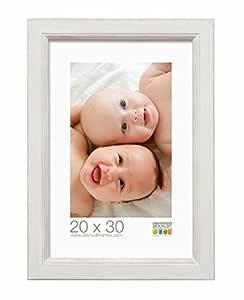 deknudt frames s42lf1木制相框适用于尺码10X 15CM 白色