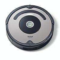 iRobot Roomba 615 Staubsaugroboter (hohe Reinigungsleistung, für alle Böden, geeignet bei Tierhaaren) grau