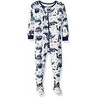 Lamaze 男婴有机长袖弹力睡衣
