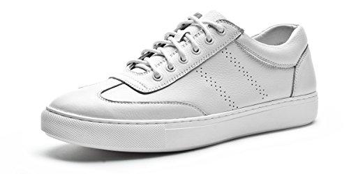 Leaveland 意大利枫叶新品流行男鞋时尚休闲鞋皮鞋小白鞋男板鞋透气鞋子系带