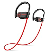 Wavefun Best Wireless 耳塞 IPX7 防水耳机高清立体声声,富低音 Siri 激活耳塞耳机