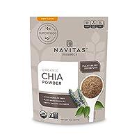 Navitas Organics 奇亚籽粉 袋装,8 盎司/227克