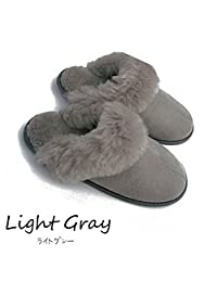 FurFurMouton拖鞋 澳大利亚天然羊毛100%[ 男女通用鞋码多 ]超柔WARM DRY防寒保温 EMU UGG CN-E801