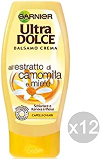 Garnier 卡尼尔 Ultra Dolce 护发素 洋甘菊蜂蜜护理和护发素 12 件