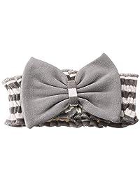 L'ovedbaby Stripe-A-Pose Collection 横条纹 弓形领带 sap-501 灰色/米色 1岁~2岁