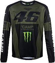 Valentino Rossi Camp-Monster Dual,长袖男式 T 恤