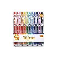 PILOT 百乐 LJU-120UF-12C(10UF) JUICE彩色中性笔/按动啫喱笔 果汁笔0.38mm 12色套装