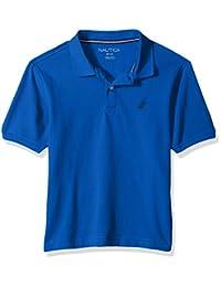 Nautica 男童短袖 deck POLO 衫和 stretch