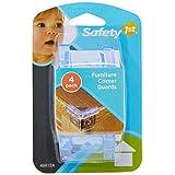 Safety 1st 方形桌角保护盖(4只装)(6个月以上,广泛用于卧室、浴室、厨房、客厅) GD48812