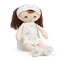 Gund Baby Little Me Plush Stuffed Toy Brunette Doll 13英寸