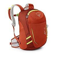 Osprey 中性童 淘气鬼 Jet 12 红色 均码 儿童背包 儿童日用旅游多功能硬质背板透气肩带舒适背负多重分仓 三年质保终身维修(两种LOGO随机发)【儿童系列】