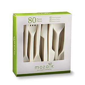Moazaik pulp cutlery 天然 均码 PM80CAM