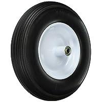 牧羊犬硬件970822英寸液晶免费轮胎,3–3/4英寸 knobby tread ,5/ 1.8CM 口径 centered axle