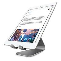 Bestand 平板电脑充电器支架,INI 铝合金平板电脑台式 iPad Air 1/22、iPad Mini 4/3/2/1 和三星平板电脑,电子阅读器,Google Nexus 7(灰色)