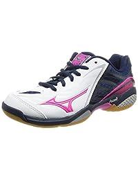 [Mizuno 美津浓] 羽毛球鞋 WAVE FAN FL [女士] (现行款)