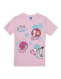 Disney 女孩《冰雪奇缘》永远补丁 T 恤