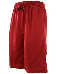 ChoiceApparel 男士纯色篮球训练短裤,带口袋和抽绳