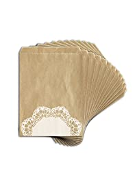 Toga EMB017 打印袋,12件,纸,牛皮,13 x 18 x 0.2厘米