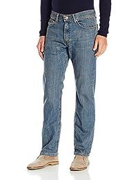 Lee 男士 精选经典款直筒牛仔裤