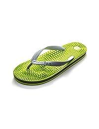 revs reflexology 按摩人字拖 按摩鞋垫 & 自然*为您的健康 & well-being 增加* & metabolism 帮助**, swollen legs & 英尺,关节疼,肌肉*