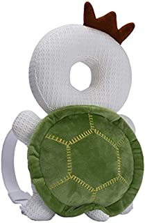 Bebamour 婴儿幼儿头部保护,可调节婴儿*垫,适用于婴儿学步者,保护头部和肩部 白色