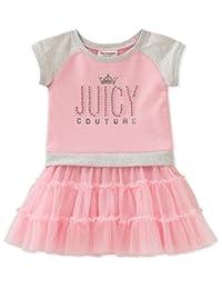 Juicy Couture 橘滋 女童休闲连衣裙