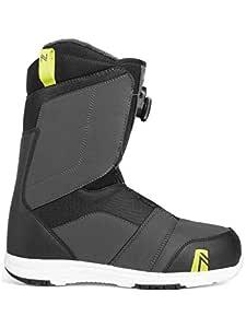 Nidecker Ranger Boa 男士单板靴炭黑色 8.0 码