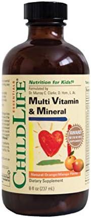 ChildLife 童年时光 多维基础营养液 23种维生素&钙镁锌 8盎司(约240毫升