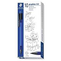 Staedtler 施德楼 办公 学生 彩色 自动铅笔(盒装/10入) 777 07-3-10(0.7mm蓝色)