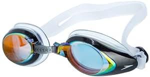 Speedo 速比涛 中性 游泳眼镜Mariner Mirror Goggle 8-093003550 红色 均码