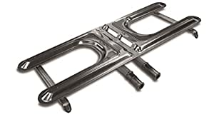 grillpro 2351519–1/ 2英寸通用 Grill 高 burner 银色 19-Inches