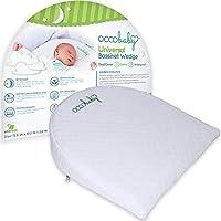 OCCObaby 通用摇篮坡跟 | 防水层和手工制作棉质可拆卸护套 | 12 度倾斜度,更好的夜间*