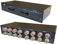 TC-7220 2路放大器 扬声器 选择器 开关 比较器 分频路由器