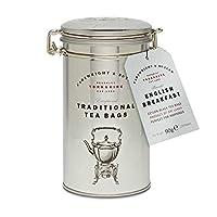 Cartwright & Butler English Breakfast Tea Bags in Caddy 75 g