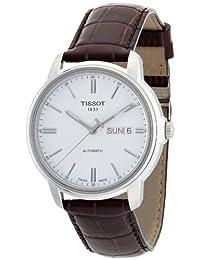 Tissot 男式自动手表白色表盘模拟显示 - T065.430.16.031.00