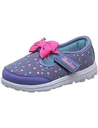 Skechers 斯凯奇 GO WALK系列 女童 玛丽珍休闲鞋 81148