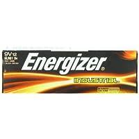 Energizer(R) 9-Volt Alkaline Industrial Batteries, Box Of 12