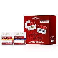 L'Oreal Paris 巴黎歐萊雅 Revitalift 高級視黃醇SPF日間和晚間乳霜,皮膚護理,送禮佳品