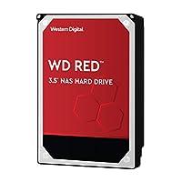 WD Red 2TB NAS硬盘驱动器-5400 RPM级别SATA 6 Gb/s 64MB缓存3.5英寸-WD20EFRX