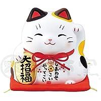 锦彩大福招财猫(大招福・大)(存钱罐) AM-Y7384