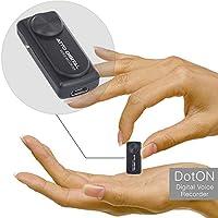 迷你錄音機 - 語音激活錄音 - 20 小時工作時間 - 8GB 容量 - 簡單一鍵操作