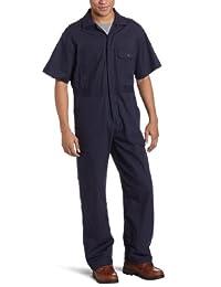 Key Apparel 男式府绸短袖无衬里连体衣