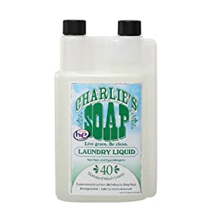 Charlie's Soap 查利洗涤剂 天然环保洗衣液(40次)950ml(进口 婴幼儿适用)(新老包装,随机发货)