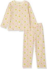 SKIN 睡衣 ONNAMA CONAGASODER 睡衣 女孩 10000071 粉色 日本 110 (日本サイズ110 相当) [平行进口商品]