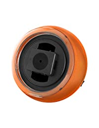 Watch winder(ウォッチワインダー) - オレンジ、LEDライト、回転方向選択可KA077(GD) ??- KA077(GD)