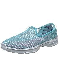 Skechers 斯凯奇 GO WALK 3系列 女 轻质一脚蹬健步鞋 14054