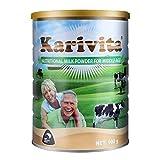 新西兰原罐进口脱脂中老年奶粉 无蔗糖低脂高钙中老年配方奶粉900g(添加鱼油 营养更高)18年新鲜日期